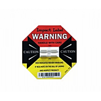 Damage Impact Label Dual Function 25G/50G