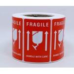 Fragile Label - 3455 (500pcs/roll)