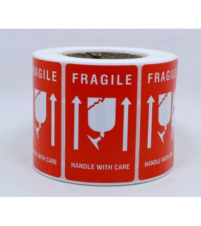 Fragile Label - 3455 (500pcs/roll)
