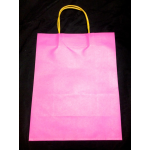 Kraft Paper Bag Purple - A3