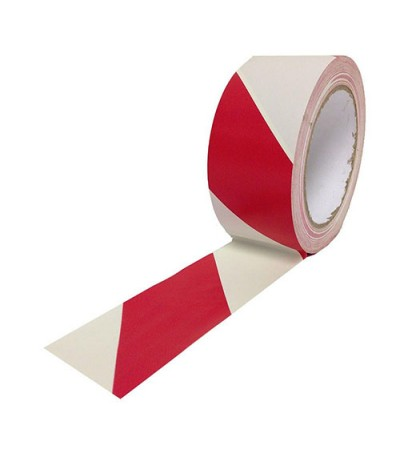 Floor Marking Tape (Red & White)